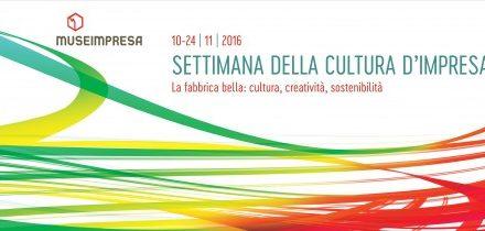 Cultura: Settimana della Cultura d'Impresa