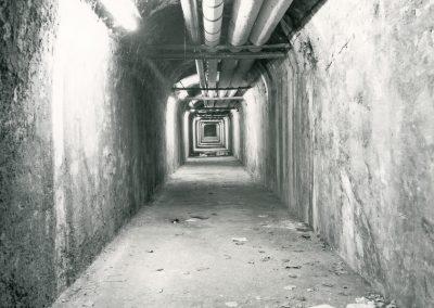 Tunnel sotterraneo al Portello, utile scorciatoia per arivare in Mensa nei giorni di pioggia
