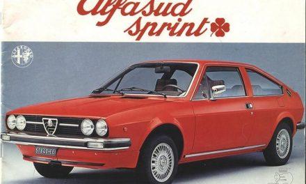 Alfasud Sprint, i suoi primi quarant'anni