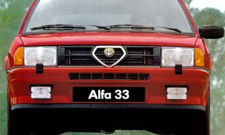 Alfa 33. La linea