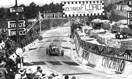 Nuvolari alla Targa Florio del 1932