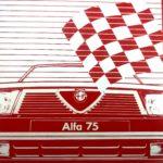 Alfa 75: la seduzione che non ti aspetti